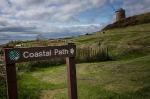Fife Coastal Path Marker